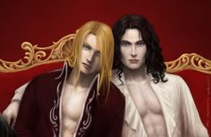 Jean-Claude and Asher close-up by Spiffiness.deviantart.com on @deviantART