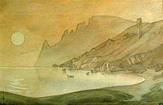 M.Voloshin (watercolor)