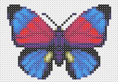 Butterfly Hama Beads pattern