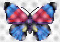 Butterfly Hama Beads pattern