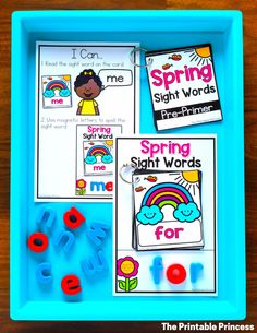 Need some ideas to freshen up your spring activities? In this post you'll find tons of engaging, hands-on activities to keep your kiddos learning all through the month of March and April. These Spring Activities for Kindergarten are great for morning tubs, early finishers, or literacy and math centers. Best of all they were made just for Kindergarten - which means they are skills your little learners are working on during spring. While you're there, be sure to download your free copy of a fun ac