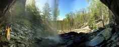 Behind Laurel Falls, Laurel-Snow hike, Dayton, Tennessee