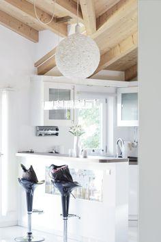Interior • Kitchen • Furniture •DIY • Lamp • Light • Lampshade • Wool • Scandinavian