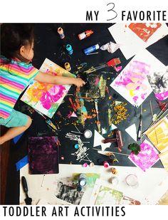 alisaburke: my 3 favorite toddler art activities