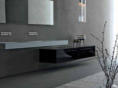 ZERO Low bathroom cabinet by RIFRA