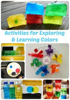 Activities for Exploring and Learning Colors | The Jenny Evolution