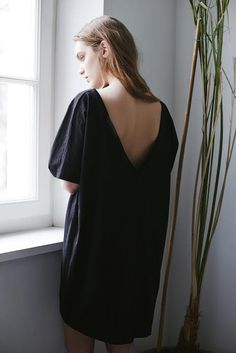 THE ODDER SIDE V-back dress. Shop at www.theodderside.com