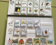 Cuaderno_Descripciones_ARASAAC_pictogramas_2 Calendar, Photo Wall, Gallery Wall, Notebook, Holiday Decor, Frame, Portal, Home Decor, Special Education