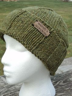 Mens Winter Hat wool/mohair by WendysWonders127 on Etsy, $30.00