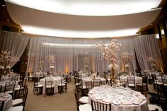 Reception | source for draping at Scripps Seaside Forum