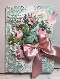 Best Birthday Greetings For Him Anna Griffin 59 Ideas Anna Griffin Inc, Anna Griffin Cards, Birthday Greetings, Birthday Cards, Easel Cards, 3d Cards, Birthday Presents For Mom, Heartfelt Creations Cards, Shabby Chic Cards