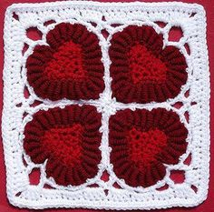 Galería: 30 Grannys a Crochet   CTejidas [Crochet y Dos Agujas]
