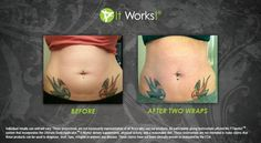 This picture is worth a thousand words and she only used two skinny wraps!
