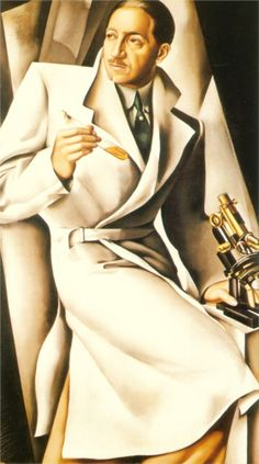 Tamara de Lempicka, Portrait Of Dr. Boucard, 1929