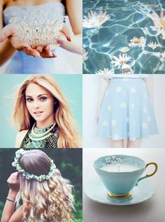 Natalie Luca daughter to a Four. One of the six Elite as chose by at the time Prince Maxon Calix Schreave and was King Clarkson's favourite. Elder sister to Lacey who was killed by Southern rebels. Close friend to Kriss Ambers, during the Halloween party they went as Spring and Fall.