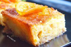 Πορτοκαλόπιτα με Ψημένο Φύλλο Greek Sweets, Greek Desserts, Kinds Of Desserts, No Bake Desserts, Dessert Recipes, Orange Pie Recipes, Greek Recipes, Cupcakes, Cupcake Cakes