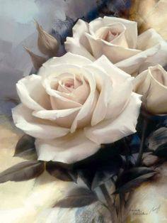 Virgin Rose Print by Igor Levashov