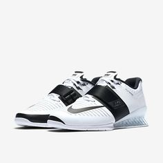 787f20adb38d Nike - Romaleos 3 Women s Weightlifting Shoes (White Black)