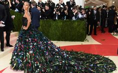 Met Gala goes futuristic  From pop icons Beyonce, to Lady Gaga, and a cheeky Madonna, to a goth-looking Taylor Swift, and almost unrecognizably intergalactic Katy Perry, it was the most glamorous night of the year in a city that likes to dress up.                Supermodel Gigi Hadid posed with pop star significant other Zayn Malik, who wore a metallic arm contraption.   Hollwood heavy hitters Orlando Bloom, Johnny Depp and Bradley Cooper, also turned out looking more old-school than..