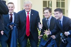 N.C.A.A. Champs Visit the White House
