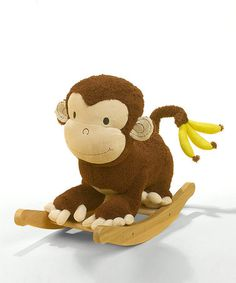 Another great find on #zulily! Mocha the Monkey Rocker #zulilyfinds