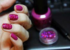 Disco style nail art :: one1lady.com :: #nail #nails #nailart #manicure
