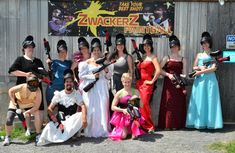This Woman Had A Paintball Bachelorette Party And It Was Awesome