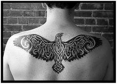 raven tattoos   History of Celtic Tribal Tattoos