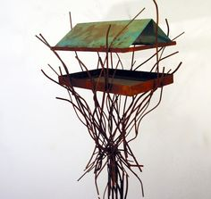 bird feeder sculpture