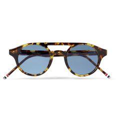 Thom Browne - Round-Frame Acetate Sunglasses