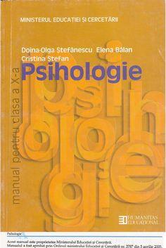 Manual Clasa a Xa Psihologie