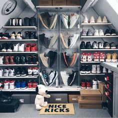 Ideas For Sneakers Collection Storage Dream Closets Sneaker Storage, Shoe Storage, Storage Ideas, Shoe Shelves, Sneaker Rack, Shoe Room, Shoe Closet, Hypebeast Room, Shoe Display
