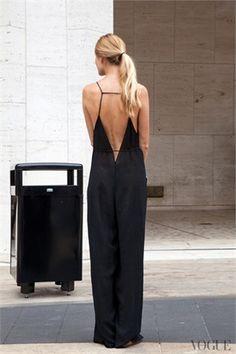 New York -backless maxi dress