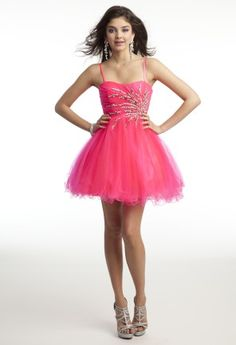 Prom Dresses 2013 - Short Tulle Dress from Camille La Vie and Group USA