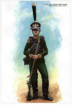 Russian Regiment de la Guardia Finlandia, 1812