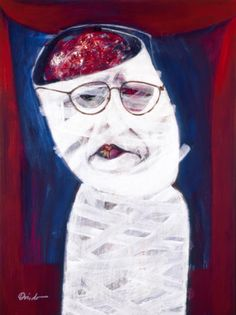 Ramón Oviedo - Self Portrait (1998) | Dominican Cult