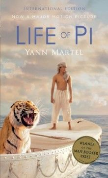 From books to movies: six books 2013 Oscar nominations are based on / Life of Pi - Yann Martel