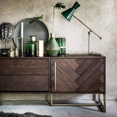 """1,552 Likes, 26 Comments - Dutchbone (@dutchbone) on Instagram: """"We just fell in love with this wonderful styling of our Class sideboard. We love the shades of…"""""""
