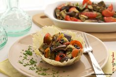#Insalata di #melanzane. Idea per #antipasto freddo #ricettebloggerriunite http://www.mycookingidea.com/2013/09/insalata-di-melanzane/