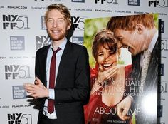 Domhnall Gleeson stars as the earnest and sweet Tim in About Time, the new movie from Love Actually director Richard Curtis. | 15 Reasons Domhnall Gleeson Is Your New Favorite Ginger