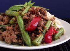 Spicy Thai Basil Beef Recipe on Yummly