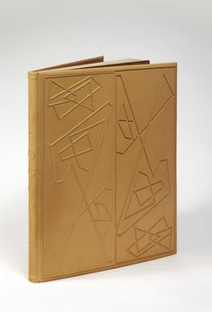 HÉSIODE - Georges BRAQUE THEOGONIE Paris, Maeght, 1955  BINDING:  P.-L. Martin - 1981