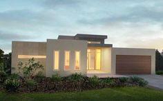 Frentes de casas sencillas y modernas