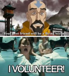 Legend of Korra: who doesn't want a flying bison as a best friend!?