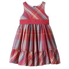 6321d7d43c9 Chaps Plaid Dress - Toddler Girl Plaid Design