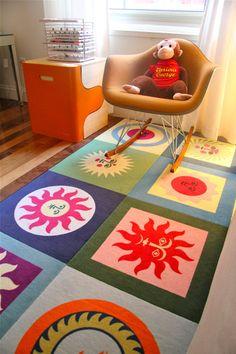 La Fonda del Sol carpet tiles from Flor