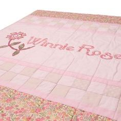 Art Name Quilt - Pink
