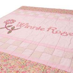 Art Name Quilt - Pink
