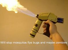 Homemade Zombie Weapons | 14 Mildly Psychotic Homemade Weapons Gallery: Homemade Weapon ...