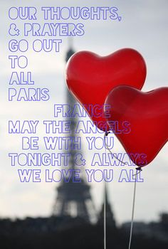 There are just no words but I had to make this once I heard the news of the unbelievable terror that beautiful Paris has been through. Why innocent people, children, anyone for that matter? I will never understand. I will pray for you tonight as I'm sure many others will. Bless you Paris #Luxurydotcom #prayforparis